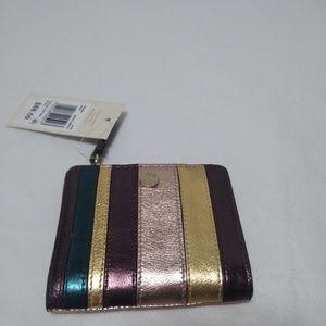 Radley London Clifton Metallic  Leather Wallet
